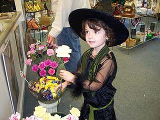 getting free flowers