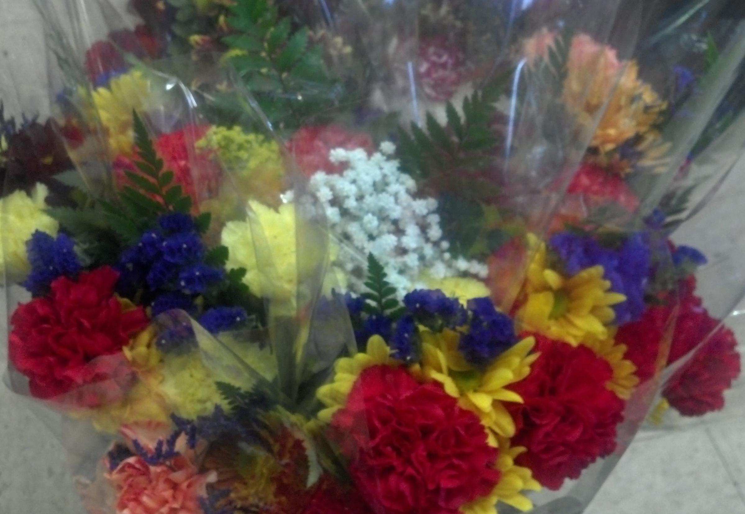 Sunshine bouquets