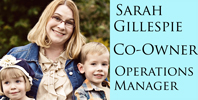Sarah Gillespie Blog Badge
