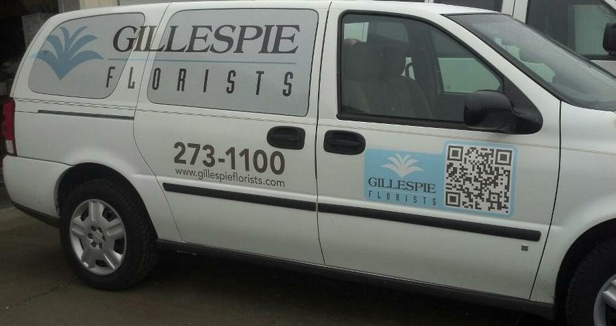 Gillespie Florists Delivery Van