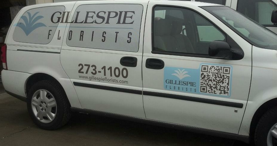 Gillespie Florists Delivery Van