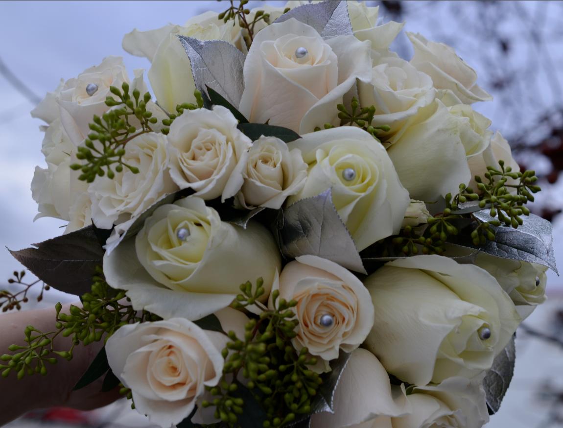 Vendela rose bridal bouqet