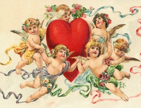 vintage vday card