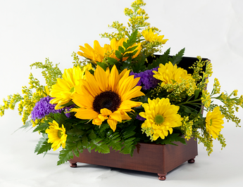 jewel box flower bouquet