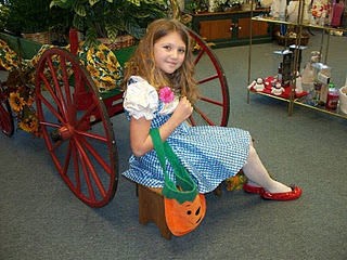 wizard of oz dorothy at gillespie florists