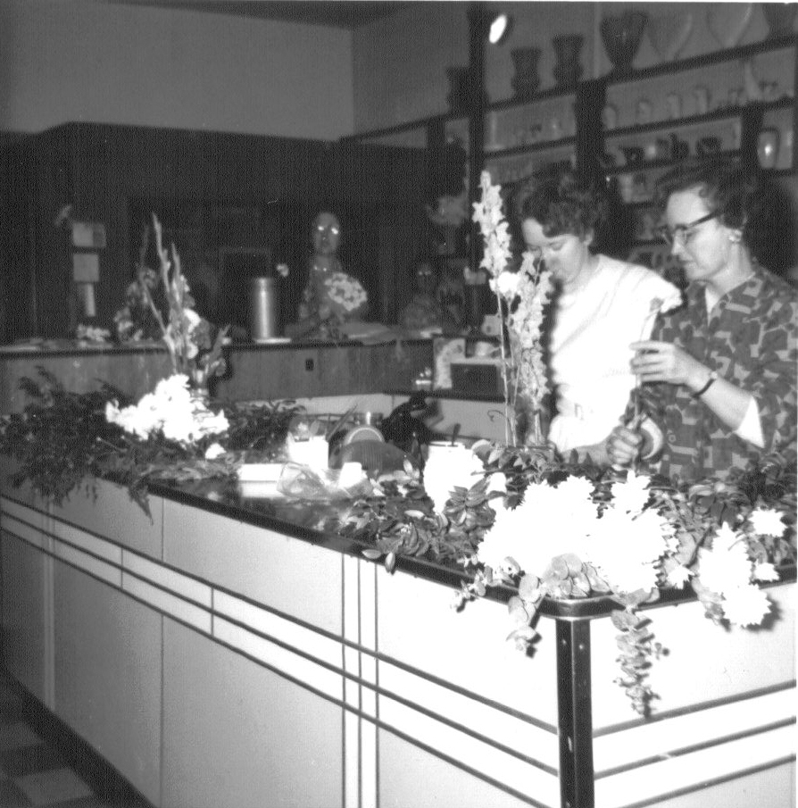 1970's flower shop