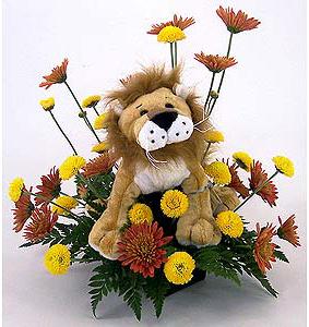 Caramel Lion Webkinz flowers