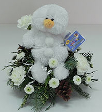 Snowman Webkinz Bouquet