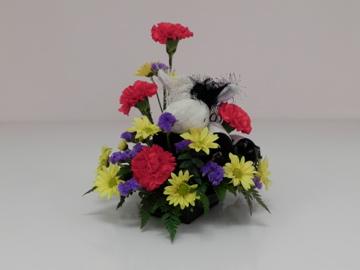 Cow Webinz in bouquet