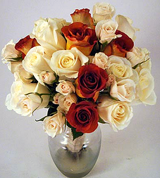 Leonidas rose bridal bouquet - chocolate rose