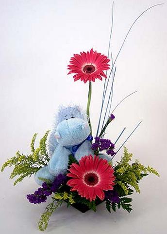 Hippo Webkinz bouquet