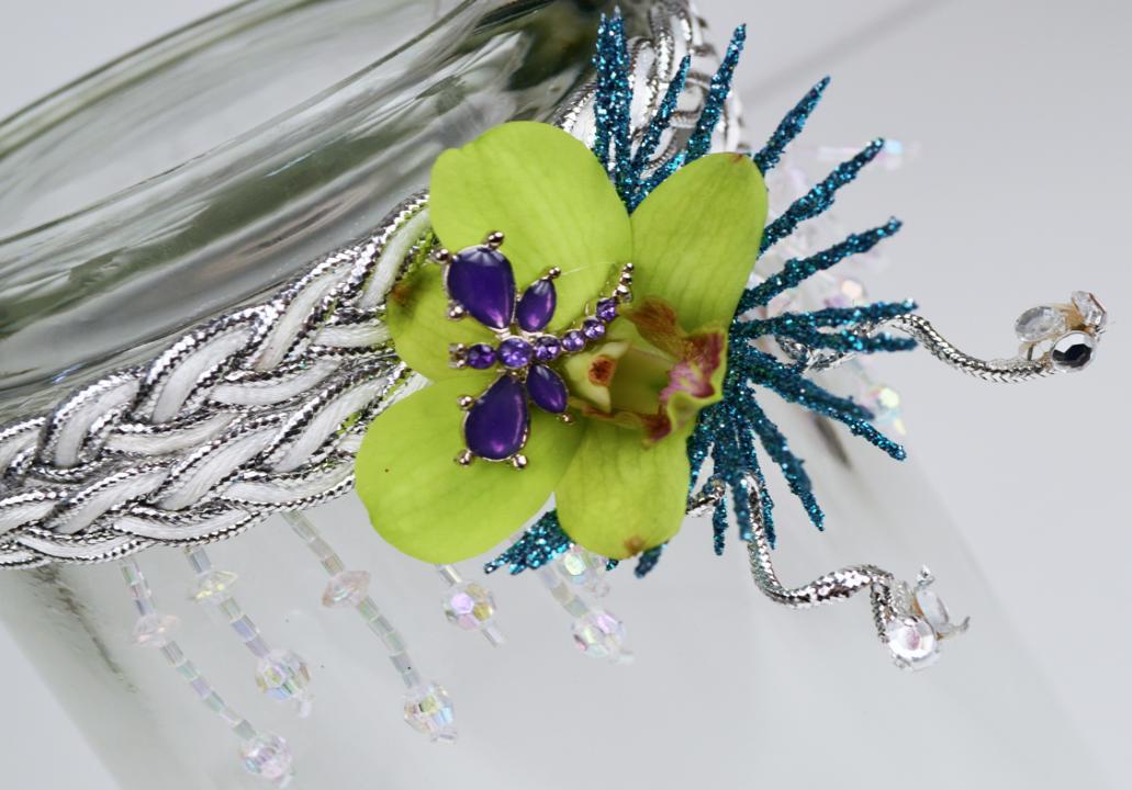 Prom Flower Headband
