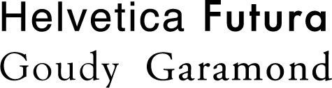 helvetfutura fontsflowers