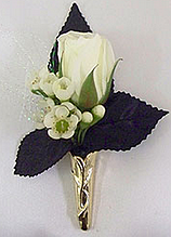 boutonniere for a vampire