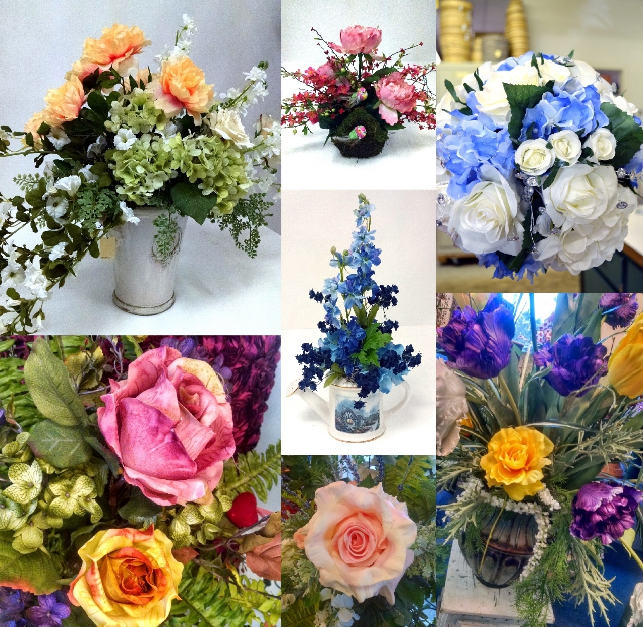Gillespie florists blog silk flowers indianapolis silks mightylinksfo